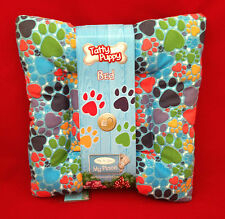 CARTE BLANCHE ME TO YOU TATTY PUPPY PAW PRINT BED ACCESSORIES PUPPY DOG