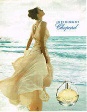 PUBLICITE ADVERTISING 015  2004  CHOPARD  parfum femme  INFINIMENT