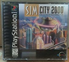 Sim City 2000 for the Sony Playstation PS1 System Complete!