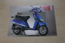 169059) Suzuki CP 50 Roller Prospekt 199?