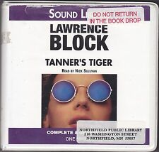 Tanner's Tiger by Lawrence Block (2004, MP3 CD, Unabridged) Mystery Thriller