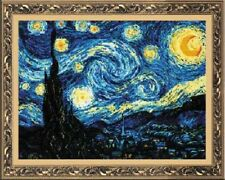 "Counted Cross Stitch Kit RIOLIS - ""Starry Night after Van Gogh`s Painting"""