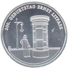 Deutschland 20 Euro Gedenkmünze 2016 bfr Ernst Litfaß