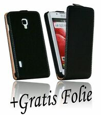 Pellicola Display+Piegatura Custodia cellulare Chic per LG P710 Optimus L7 II BK