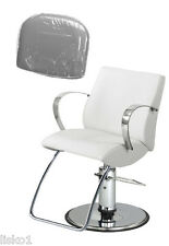 TAKARA - BELMONT* LIONESS * SALON STYLING CHAIR PLASTIC CHAIR BACK COVER (CLEAR)
