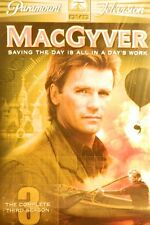 New listing Macgyver The Complete Third Season 20 Episodes 15+ Hours of Action 5-Disc Sealed