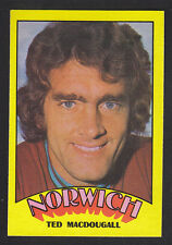 A&BC - Footballers (Red Back) 1974 - # 39 Ted Macdougall - Norwich