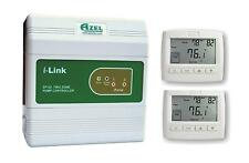 Package Deal: Azel 2 Zone Switching Relay with 2 Floor Heating Thermostats