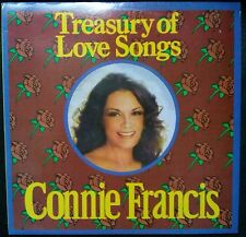 CONNIE FRANCIS - A TREASURY OF LOVE SONGS VINYL LP AUSTRALIA