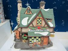 Dept 56  QUILLY'S ANTIQUES  -  Dickens Village Series  #58348  NIB  (1016SH)
