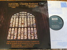 ZRG 766 Handel Chandos Anthems / Willcocks / King's