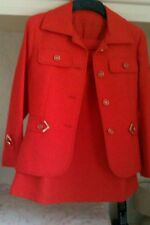Vntage 1970s red suit