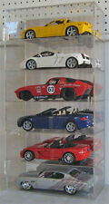 NASCAR Diecst Display Case Cabinet for 1:18 Scale  Cars, Acrylic, AHW18-6V