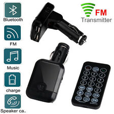 S9 BT USB Charger LCD Car Kit MP3 Bluetooth FM Transmitter With Handsfree Remote