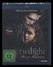 BLU-RAY TWILIGHT - BISS ZUM MORGENGRAUEN - DELUXE FAN EDITION **** NEU ****