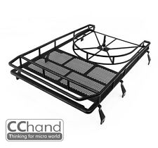 Roof Rack / Spare Tire holder ( NO light bucket ) for Defender D90 -- by CCHand