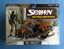 NITRORIDERS AFTER BURNER AFTERBURNER SER 16 MOTORCYLE & RIDER MCFARLANE SPAWN