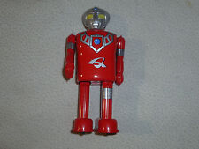 "JAPANESE MARMIT WINDUP KEYWIND ROBOT TIN 6"" FIGURE TOY-ASTRA ULTRAMAN TSUBURAYA"