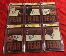CGC SS~WALKING DEAD 97,98,99,100,101,102~LUCILLE~SIGNED JEFFREY DEAN MORGAN~9.8