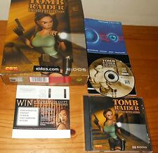 Tomb Raider The Last Revelation Original Big Box version for PC. Complete. PAL