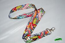 JDM Sticker Bomb Lanyard Illest Drift Turbo Stickerbomb Lanyard Ships From NY