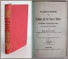Mardetschlaeger histoire de Bisthums et le Dioecese Budweis 1885 République