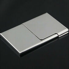 Stainless Steel Pocket Business Name Credit ID Card Holder Box Metal Box Case HQ
