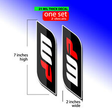 2006 2007 2008 2009 YAMAHA YZF 250 YZF 450 GRAPHICS WP FORK TUBE DECALS GRAPHICS