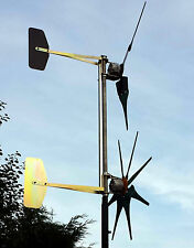 2 Hornet PMA Wind turbine 2 x to fit on one tower Hornet wind turbine UK special