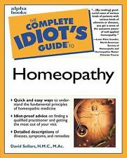 Complete Idiot's Guide to Homeopathy, David W. Sollars, Good Book