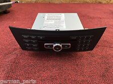 MERCEDES C250 C300 C350 C63 NAVIGATION GPS DVD STEREO CD PLAYER RADIO ASSEMBLY