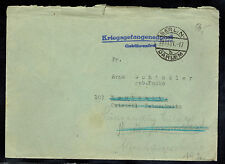 1951 Berlin Germany Red Cross Stampless Prisoner of War POW Cover