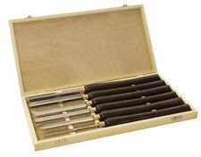 SCHEPPACH WOOD LATHE CHISELS SET 6 PIECES GOUGES HSS 470mm TURNING TOOL