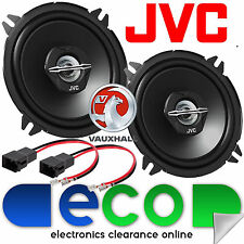 Vauxhall Corsa C Combo Crew Cab 00-06 JVC 13cm 500 Watts 2 Way Rear Car Speakers