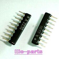 50 PCS Resistor Network A09-223 A223G 22K ohm 9-pin Bus