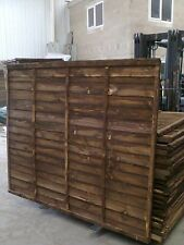 Budget Fencing Wood Panels - 6 x 2 (6ft by 2ft) - £11.40 EACH