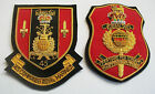 45 COMMANDO ROYAL MARINES GOLD WIRE BLAZER BADGES - 2 TYPES AVAILABLE