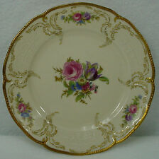 "ROSENTHAL china DIPLOMAT 5982 pattern BREAD PLATE 6-1/4"" Small Flower Center"