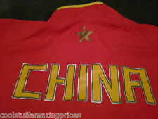 NIKE FitDRY TEAM CHINA TRACK JACKET *XXL*  Warm Up Olympic Style  *FULL ZIPPER*