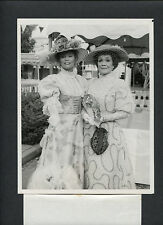 JANE WYMAN + ABBY DALTON IN TURN-OF-THE-LAST-CENTURY COSTUMES - FALCON CREST TV