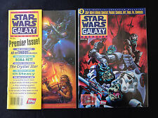 Star Wars Galaxy Magazine 1 3 4 6 8 9 VF/NM Condition