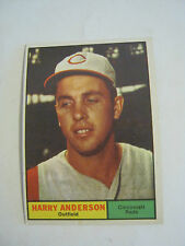 1961 Topps #76 Harry Anderson Baseball Card, Good Cond (GS2-b4)