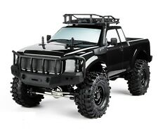 RC Truck Body Shell 1/10 KOMODO Pick Up ROCK CRAWLER Body BLACK  FINISHED  -NEW-