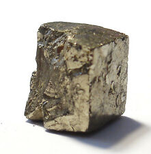 NATURAL SPECIMEN (DISCOUNT : IMPERFECT) - IRON PYRITE Cube w/ Description Card