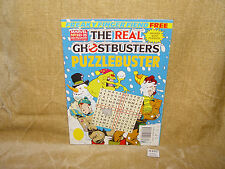 ULTRA RARE MARVEL NO 3 REAL GHOSTBUSTERS PUZZLEBUSTER MAGAZINE UNUSED 1990 / 91