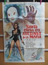 2110      SANTO CONTRA LOS ASESINOS DE LA MAFIA. SANTO