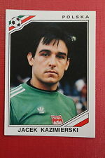 Panini MEXICO 86 N. 381 POLSKA KAZIMIERSKI With back GOOD CONDITION!!