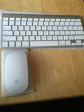 Apple Bluetooth Wireless Keyboard and Magic Mouse Bundle A1314 Great Condition