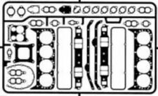 DETAIL MASTER 1/24-1/25 Gaskets Small Block Chevy DET2430