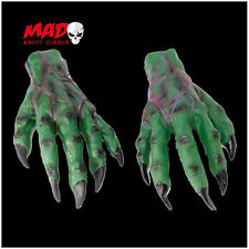 Green Monster Gloves- Frankenstein/Alien/Witch Halloween Horror Hands Costume